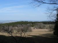 Pohádka, pohled na Korábskou vrchovinu