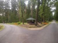 lesní okruh pro cyklisty a bruslaře Hradec Králové - MAPA