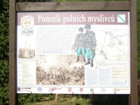 Hořiněves - pomníky bitvy r. 1866