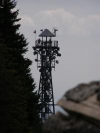 Černá hora - rozhledna Panorama
