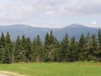 Černá hora - výhledy od hotelu Černá Bouda