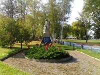 Ohnišťany - pomník obětem válek