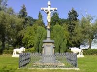 Bojiště na Chlumu - Ossarium, Furstenberský kříž