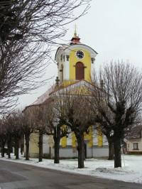 Chomutice - kostel sv. Dionýsia