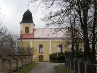 Ostřetín - kostel Zvěstování Panny Marie