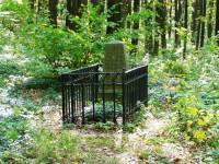 Les Svíb - Alej mrtvých, pomník Leopolda Schmidta
