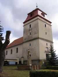 Libřice - kostel sv. Michalela