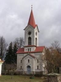 Černilov - kostel reformovaných evangelíků