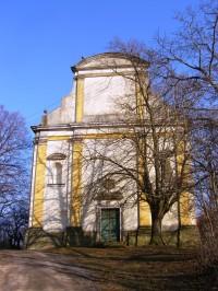 Popovice - kostel Narození Panny Marie