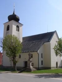 Morašice - kostel sv. Petra a Pavla