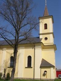 Cerekvice nad Loučnou - kostel sv. Václava