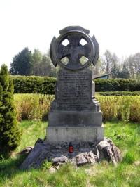 Vysokov - zeměbranecký kříž