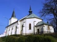 Horní Jelení - kostel Nejsvětější Trojice
