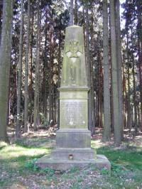 Václavický les - bojiště, pomníky bitvy r. 1866
