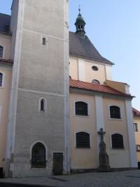 Broumov - kostel sv. Petra a Pavla