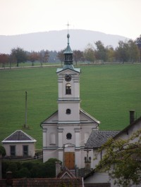 Šedivec - kostel Nanebevzetí Panny Marie