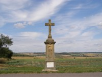 kříž u Chotěborek - vyhlídka