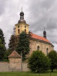 Veliš - kostel sv. Václava