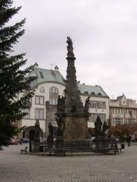 Dvůr Králové nad Labem - Mariánský sloup