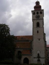 Nový Bydžov - kostel sv. Vavřince