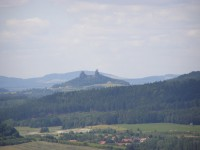 Trosky z vrchu Veliš