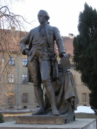 Josefov - socha Josefa II