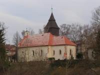 Nové Město nad Metují - Krčín - kostel sv. Ducha