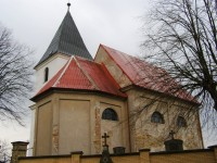 Šachov - Kostel Nejsvětější Trojice