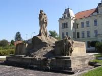 Hořice - pomník Jana Husa