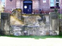 Pecka - pomník Kryštova Haranta