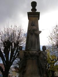 Lomnice nad Popelkou - pomník Mistra Jana Husa