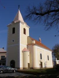 Týnec nad Labem - kostel sv. Jana Křtitele