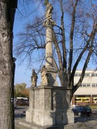 Týnec nad Labem - Mariánské sousoší