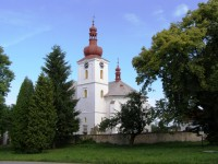 Velešice - kostel Nanebevzetí Panny Marie