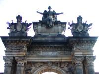 Gothard - portál nového hřbitova