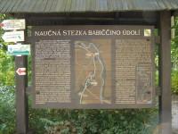 turistické rozcestí Ratibořice - u zámku