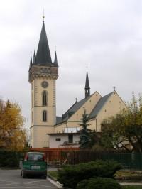 Dvůr Králové - kostel sv. Jana Křtitele