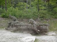 Braunův betlém - studna Jákobova