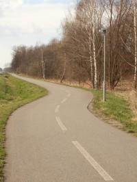 cyklostezka u Týniště nad Orlicí