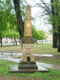 Dvůr Králové nad Labem - centrální pomník bitvy r. 1866