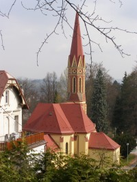 Trutnov - evangelický kostel, síň Bohuslava Martinů