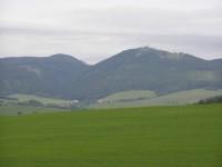 vyhlídka na Javoří hory