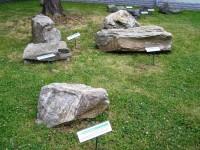 Jeseník - venkovní geologická expozice Jesenicka