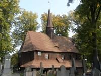 Broumov - dřevěný kostel sv. Panny Marie