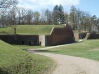 Pevnost Josefov - u vstupu do podzemí