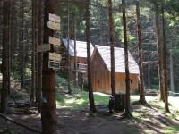turistické rozcestí Zlatorudné mlýny