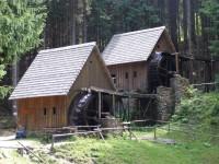 Zlatorudné mlýny - hornický skanzen