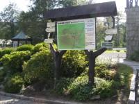 turistické rozcestí Karlova Studánka - Libuše