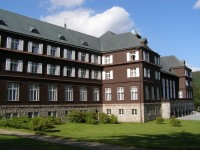 Karlova Studánka - lázeňský dům Libuše