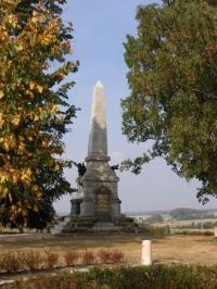 Bojiště bitvy r. 1866 u Náchoda
